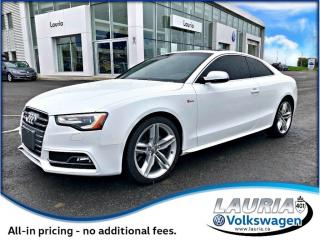Used 2014 Audi S5 3.0 Technik AWD  - Low kms for sale in PORT HOPE, ON