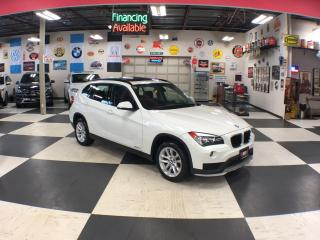Used 2015 BMW X1 XDRIVE AUT0 AWD LEATHER PANO/ROOF BLUETOOTH 85K for sale in North York, ON
