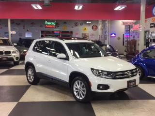 Used 2015 Volkswagen Tiguan 2.0TSI COMFORTLINE AUT0 AWD LEATHER PANO/ROOF 95K for sale in North York, ON