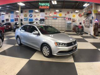 Used 2015 Volkswagen Jetta Sedan 2.0L TRENDLINE AUT0 A/C H/SEATS BACKUP CAMERA 45K for sale in North York, ON