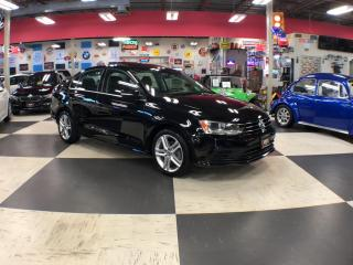 Used 2015 Volkswagen Jetta Sedan 1.8 TSI COMFORTLINE AUT0 SUNROOF BACKUP CAMERA 86K for sale in North York, ON