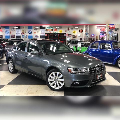 2014 Audi A4 2.0T QUATTRO AUT0 LEATHER SUNROOF CAMERA