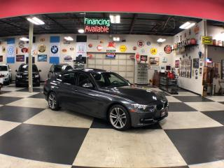 Used 2014 BMW 3 Series 320I X DRIVE SPORT PKG AUT0 LEATHER SUNROOF 82K for sale in North York, ON