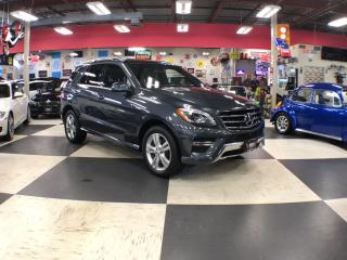Used 2015 Mercedes-Benz ML-Class ML350 4MATIC BlLUETECH AUT0 NAVI LEATHER PANO/ROOF for sale in North York, ON