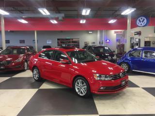 Used 2015 Volkswagen Jetta Sedan 1.8 TSI HIGHLINE AUT0 NAVI LEATHER PUSH START 77K for sale in North York, ON