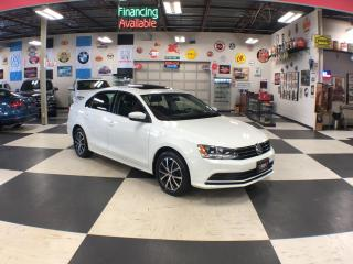 Used 2015 Volkswagen Jetta Sedan 1.8 TSI COMFORTLINE AUT0 SUNROOF BACKUP CAMERA 84K for sale in North York, ON