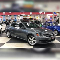 Used 2015 Volkswagen Passat 1.8 TSI COMFORTLINE AUT0 LEATHER SUNROOF BACKUP CAMERA 44K for sale in North York, ON