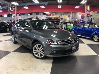 Used 2015 Volkswagen Jetta Sedan 1.8 TSI HIGHLINE AUT0 LEATHER NAVI PUSH START 55K for sale in North York, ON