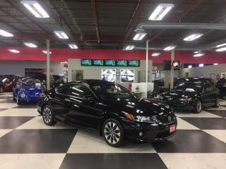 Used 2013 Honda Accord Sedan EX-L C0UPE AUT0 LEATHER NAVI SUNROOF 75K for sale in North York, ON