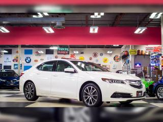 Used 2015 Acura TLX V6 SH-AWD AUT0 LETHER SUNROOF BACKUP CAMERA for sale in North York, ON