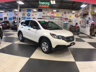 Used 2014 Honda CR-V LX AUT0  A/C H/SEATS BACKUP CAMERA 50K for sale in North York, ON