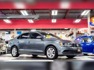 Used 2015 Volkswagen Jetta Sedan 2.0L TRENDLINE  AUT0 A/C SUNROOF BACKUP CAMERA 77K for sale in North York, ON
