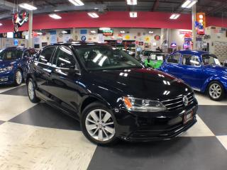 Used 2015 Volkswagen Jetta Sedan 2.0L TRENDLINE  5SPEED SUNROOF BACKUP CAMERA 67K for sale in North York, ON