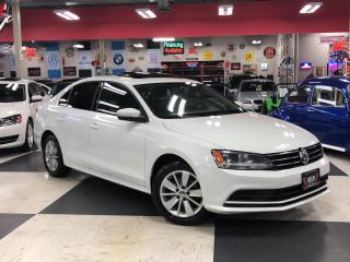 Used 2015 Volkswagen Jetta Sedan 2.0L TRENDLINE  5 SPEED SUNROOF BACKUP CAMERA 98K for sale in North York, ON