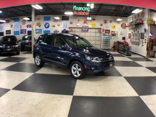Used 2015 Volkswagen Tiguan 2.0TSI COMFORTLINE AUT0 AWD LEATHER PANO/ROOF 69K for sale in North York, ON