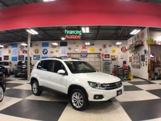 Used 2015 Volkswagen Tiguan 2.0 TSI COMFORTLINE AWD NAVI PANO/ROOF CAMERA 97K for sale in North York, ON