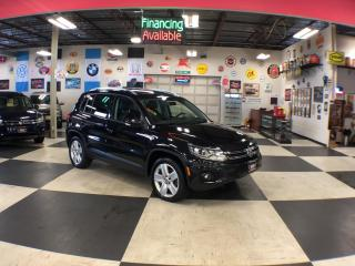 Used 2015 Volkswagen Tiguan 2.0TSI COMFORTLINE SPORT PKG AWD LEATHER PANO/ROOF for sale in North York, ON