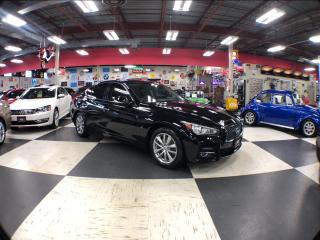 Used 2015 Infiniti Q50 SPORT AUT0 AWD NAVI LEATHER SUNROOF CAMERA for sale in North York, ON