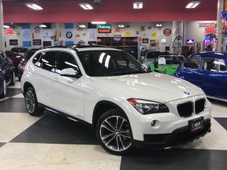 Used 2015 BMW X1 X DRIVE AUT0 AWD LEATHER PANO/ROOF BLUETOOTH 99K for sale in North York, ON