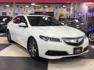 Used 2015 Acura TLX PREMIUM PKG AUT0 LETHER SUNROOF CAMERA for sale in North York, ON