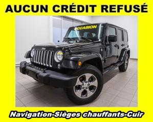 Used 2016 Jeep Wrangler Sahara 4x4 Cuir for sale in Mirabel, QC