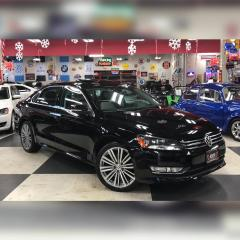 Used 2015 Volkswagen Passat 1.8TSI COMFORTLINE 5SPEED 2TONE LEATHER SUNROOF 79K for sale in North York, ON