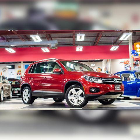 2015 Volkswagen Tiguan 2.0TSI COMFORTLINE AUT0 AWD LEATHER SPORT PKG 89K