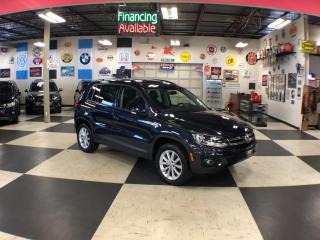 Used 2015 Volkswagen Tiguan 2.0TSI COMFORTLINE AUT0 AWD LEATHER PANO/ROOF 78K for sale in North York, ON