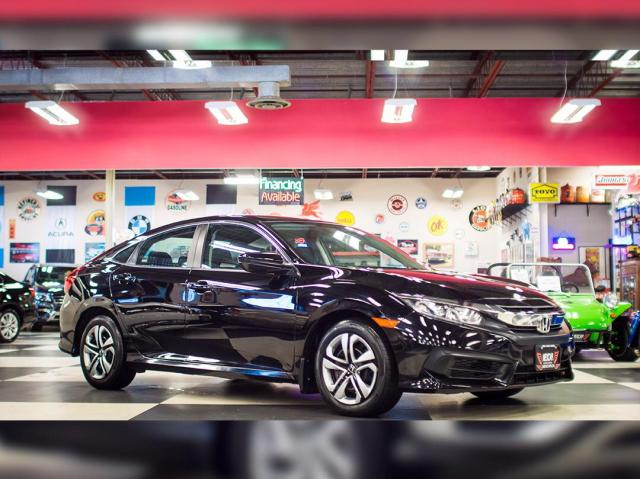 2016 Honda Civic Sedan LX MANUAL A/C H/SEATS REAR CAMERA BLUETOOTH 85K