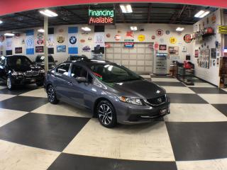 Used 2014 Honda Civic Sedan EX AUT0 A/C SUNROOF H/SEAT BACKUP CAMERA 134K for sale in North York, ON