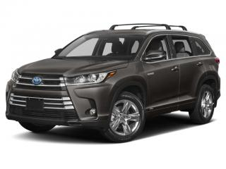 New 2019 Toyota Highlander HYBRID XLE for sale in Fredericton, NB