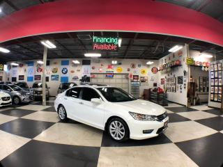 Used 2015 Honda Accord Sedan TOURING AUT0 NAVI LEATHER SUNROOF CAMERA 99K for sale in North York, ON