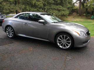 Used 2009 Infiniti G37 Infiniti G37 Convertible for sale in St-Georges, QC