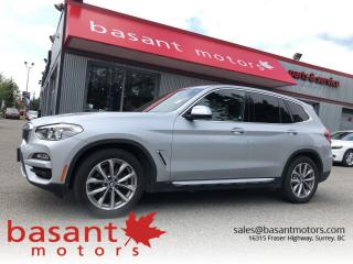 Used 2018 BMW X3 Nav, Driver Assists, Panoramic Roof, xDrive!! for sale in Surrey, BC