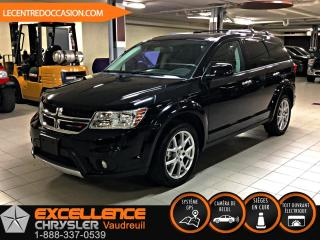 Used 2018 Dodge Journey GT *CUIR/DVD/7PLACES* for sale in Vaudreuil-Dorion, QC