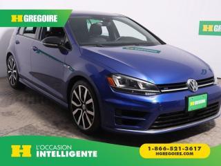 Used 2017 Volkswagen Golf R 5DR HB MAN 4MOTION for sale in St-Léonard, QC