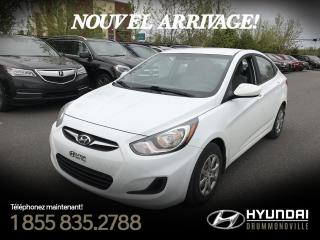 Used 2014 Hyundai Accent GL + GARANTIE + CRUISE + BLUETOOTH + A/C for sale in Drummondville, QC