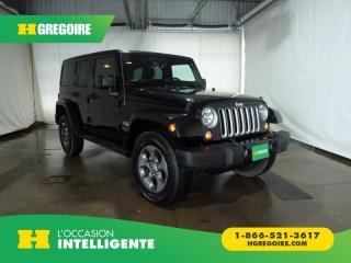Used 2018 Jeep Wrangler Unltd Sahara Awd for sale in St-Léonard, QC
