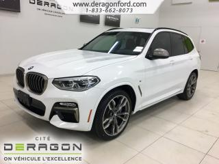 Used 2018 BMW X3 M40i 355hp Roues 21 for sale in Cowansville, QC