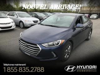 Used 2017 Hyundai Elantra GL SE + 21 842 KM + GARANTIE + CAMÉRA + for sale in Drummondville, QC