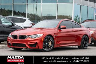Used 2016 BMW M4 Bmw Orange Sakhir for sale in Lachine, QC