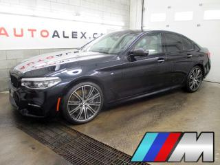Used 2017 BMW 5 Series 540i Xdrive M Sport for sale in St-Eustache, QC