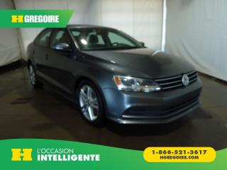 Used 2015 Volkswagen Jetta TRENDLINE PLUS for sale in St-Léonard, QC