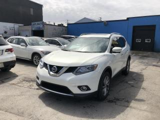 Used 2014 Nissan Rogue SL AWD AUTO,GPS,CAMÉRA,CUIR,TOIT OUVRANT for sale in Montréal, QC
