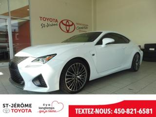 Used 2015 Lexus RC F V8 5.0l Cuir for sale in Mirabel, QC