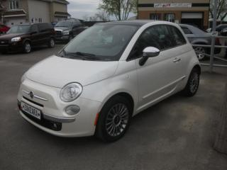 Used 2012 Fiat 500 Voiture à hayon 2 portes Lounge for sale in St-Sulpice, QC