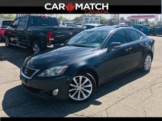Used 2010 Lexus IS 250 LEATHER / AWD / SUNROOF for sale in Cambridge, ON