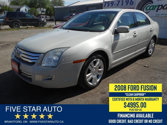 2008 Ford Fusion SEL *Clean Carproof* Certified w/ 6 Month Warranty