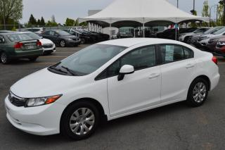 Used 2012 Honda Civic LX ** Bas kilométrage ** for sale in Longueuil, QC