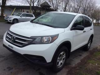Used 2012 Honda CR-V LX for sale in Drummondville, QC